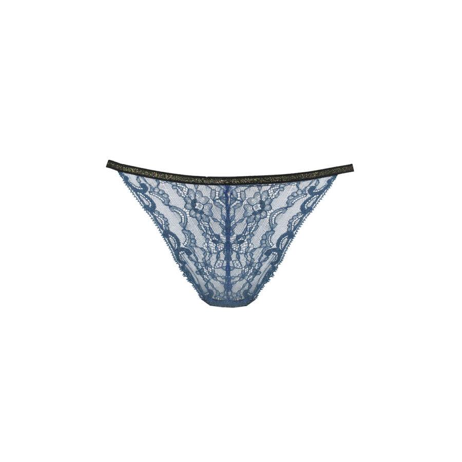 Culotte en dentelle bleue
